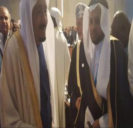 د. محمد مفرح مع الرؤساء والقادة